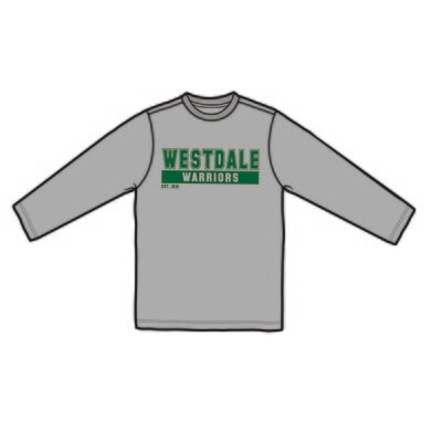 Westdale Warrior Long Sleeve T-Shirt - Silk Screened Logo