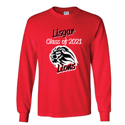Lisgar Lions Grad 2021 Long Sleeve T-Shirt