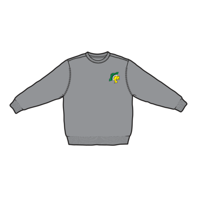 Westdale Warriors Crew Neck Sweatshirt - Embroidered Logo