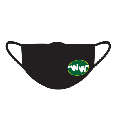 Westdale Warriors Fabric Face Mask with Logo