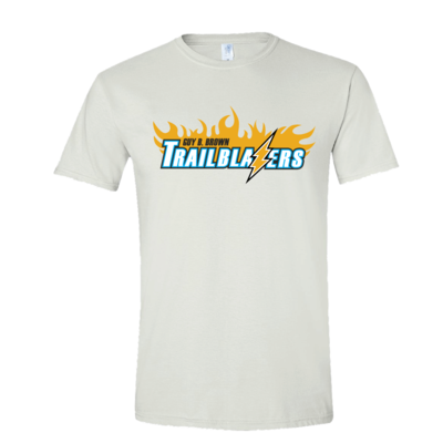Trailblazers Staff - T-Shirt with Large Logo