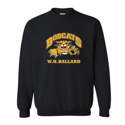 Bobcats Crew Neck Sweatshirt (multi colour print)