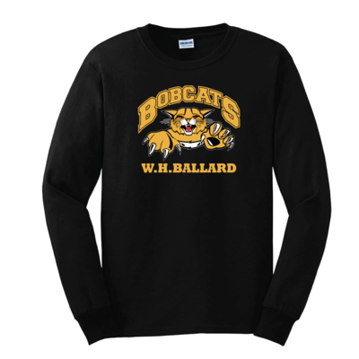 Bobcats Long Sleeve T-Shirt (multi colour print)