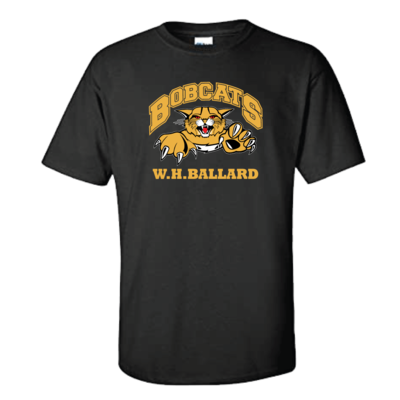 Bobcats T-Shirt (multi colour print)