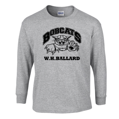 Bobcats Long Sleeve T-Shirt