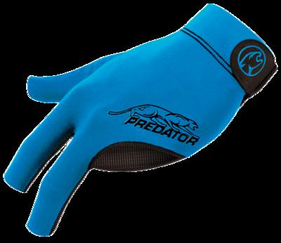 Predator Glove - BGLPB - Second Skin Black & Blue - Bridge Hand Left