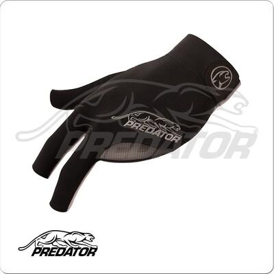 Predator Glove - BGLPG - Second Skin Black & Grey - Bridge Hand Left