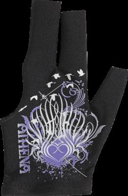Athena - BGLATH04 - Tribal Purple Heart Glove - Bridge Hand Left