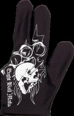 Eight Ball Mafia Glove - BGLEBM01 - Brass Knuckles - Bridge Hand Left