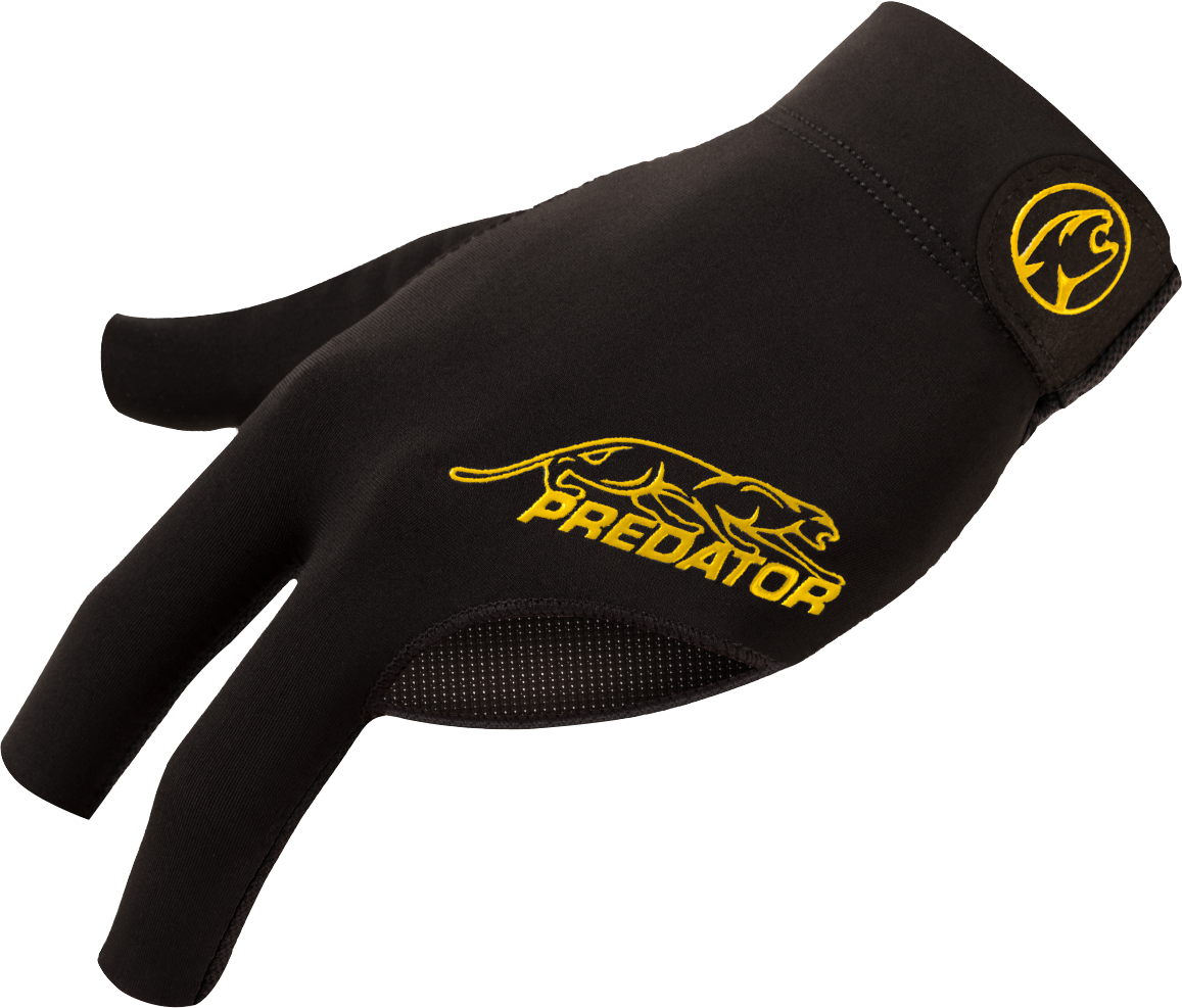 Predator Glove - BGLPY - Second Skin Black & Yellow - Bridge Hand Left