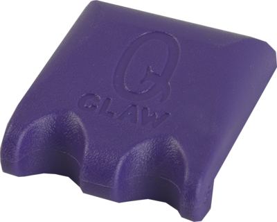 Q-Claw - QHQC2 - 2 Cue Holder Claw - Purple