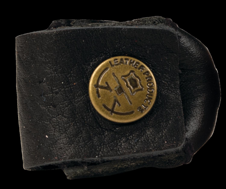 Leather Euro Wrap QCWRAP Chalker - Black