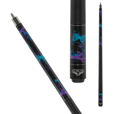 Athena - Butterflies - ATH44 Pool Cue