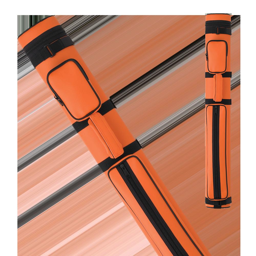 Action - AC22 - Orange 2x2 Hard Cue Case