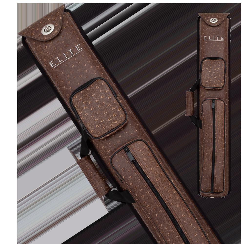 Elite - ECN35 - Brown Nexus 3x5 Hard Cue Case