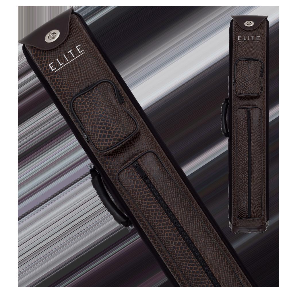 Elite - ECNR35 - Brown Nexus Reserve 3x5 Hard Cue Case
