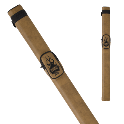 Outlaw - OLH11 - 1x1 Flames Hard Cue Case