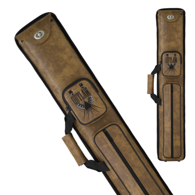Outlaw - OLH35 - 3x5 Horseshoe Hard Cue Case