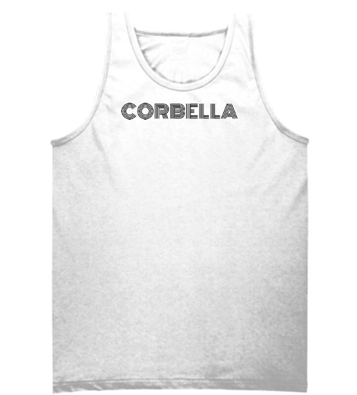 White Corbella Tank