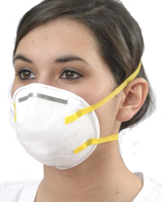 N95 Respirator Mask - NIOSH, FDA, & CE