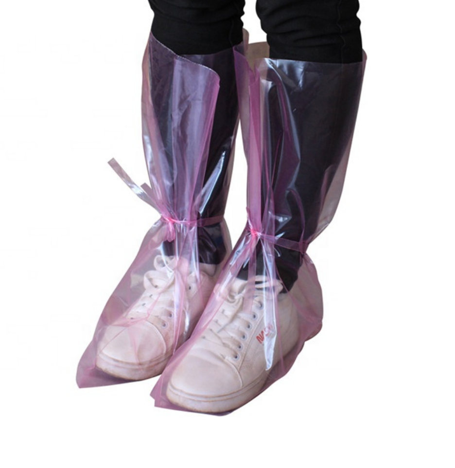 Disposable High Overboots for Protection and Epidemic Prevention