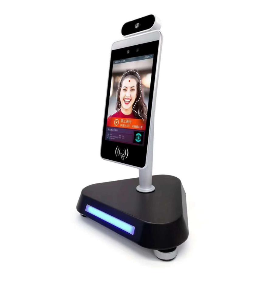 Facial Temp Measurement Thermal Imagination Facial Recognition Access Control Display