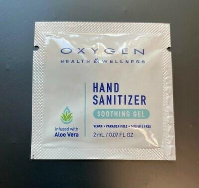 HAND SANITIZER INDIVIDUAL PADS