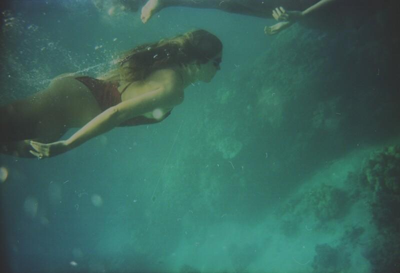 summer swimmer