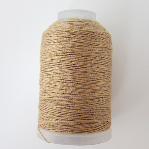 Beige Jeans Topstitching Thread