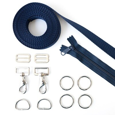 Desmond Pack Hardware Kit - Zipper & Webbing