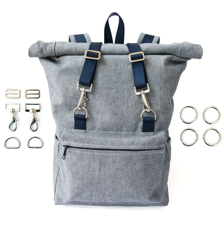 Desmond Backpack Pattern + Hardware Kit