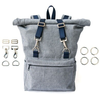 Desmond Backpack Pattern + Hardware Kit