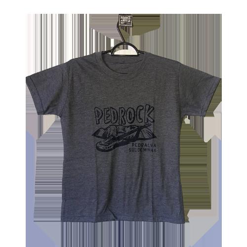 Camiseta Pedrock - Cinza Escuro