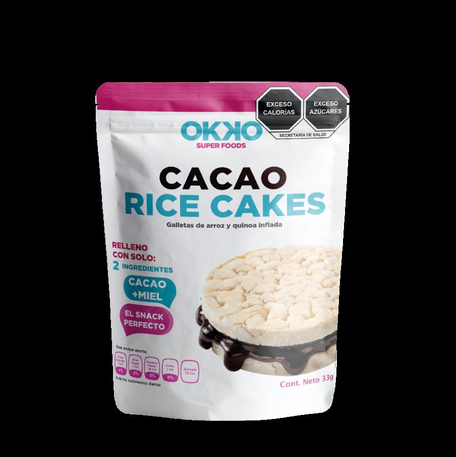 OKOK RICE CAKES X 4 (28GR C/U)