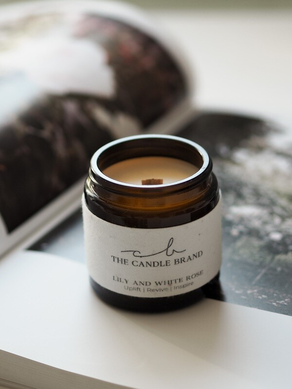 The Burn and Bloom 20 Hour Candle by The Candlebrand