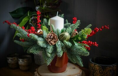 The Classic Christmas Table Design