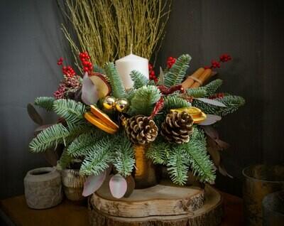The St Nicholas Christmas Table Design