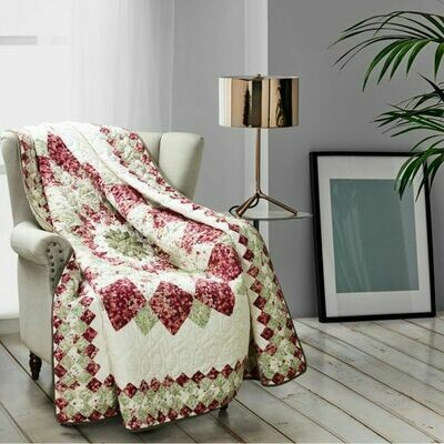 Springfield Dahlia Throw