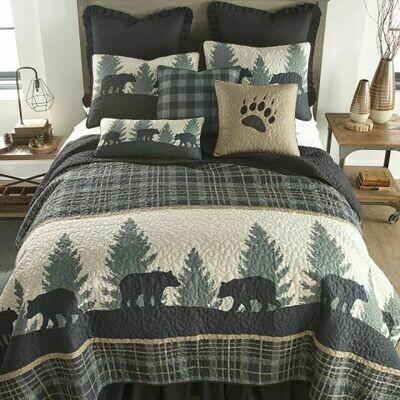 Bear Walk Twin Quilt