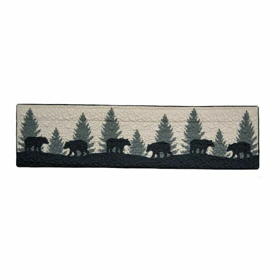 Bear Walk Valance/Runner