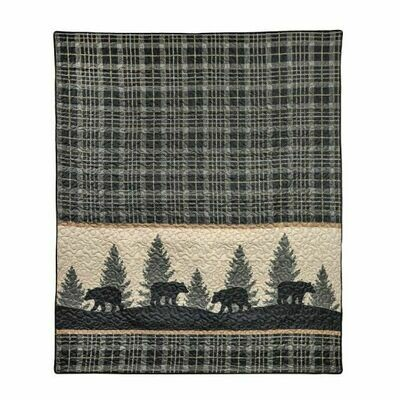 Bear Walk Throw