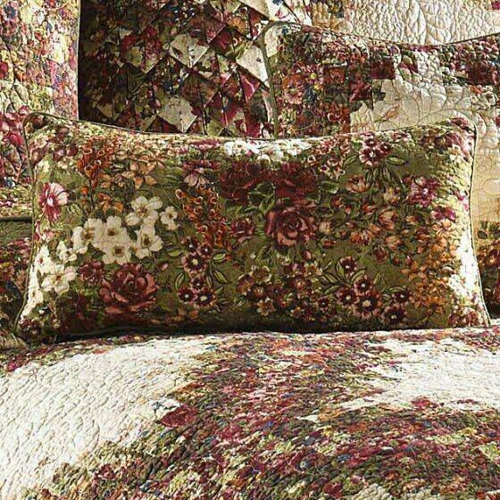 Watercolor Irish Rectangle Pillow