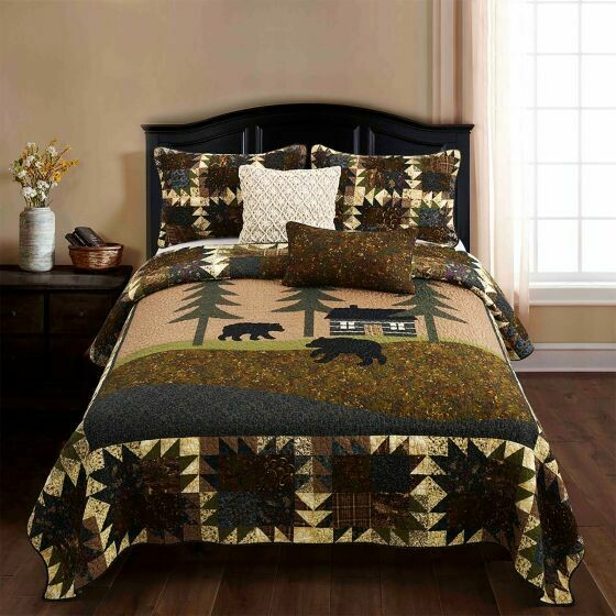 Mountain Lodge King Quilt
