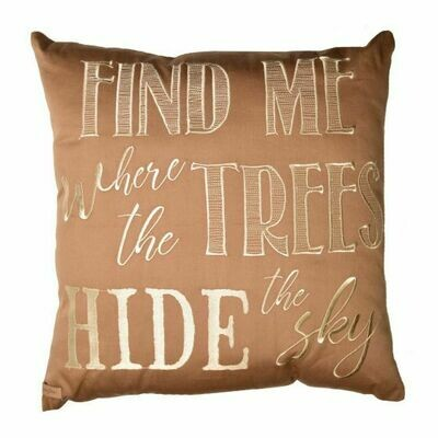 Maple Leaf Find Me Pillow