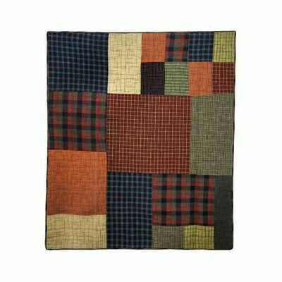 Woodland Square Throw