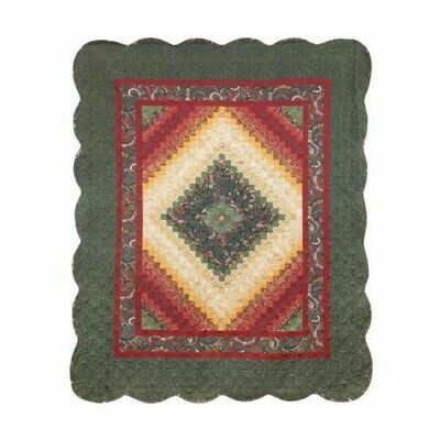 Spice Postage Stamp Throw