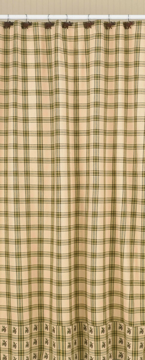 Pine Lodge Shower Curtain