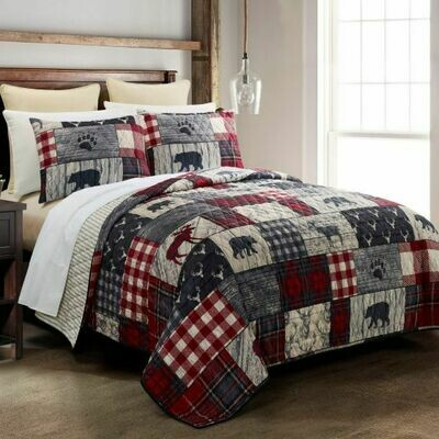 Timber King Bedding Set