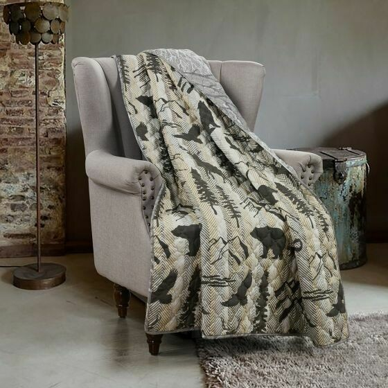Forest Weave Throw