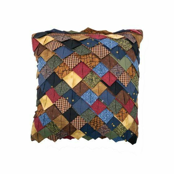Midnight Bear Tile Pillow